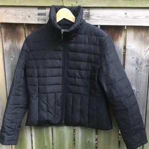 Kenneth Cole black down jacket - size L